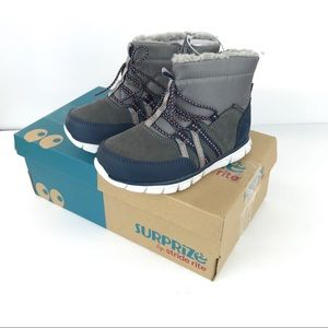 Stride Rite Shoes - Stride Rite Boys Gray Mike winter boot